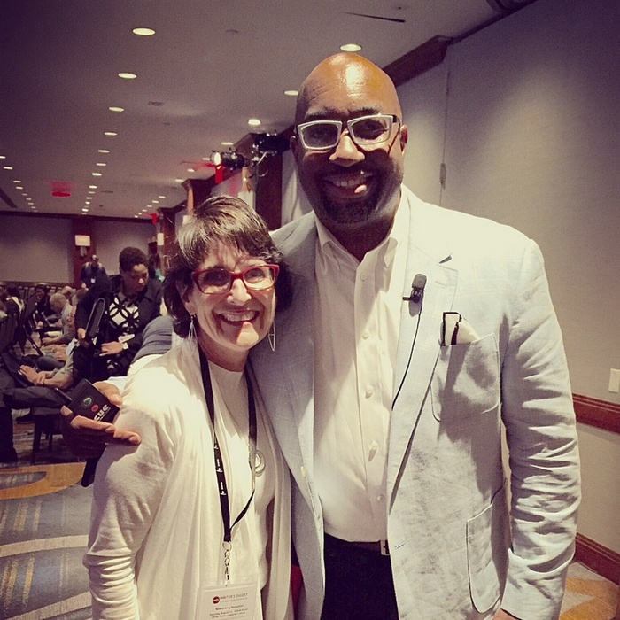 Julie Bogart and Kwame Alexander
