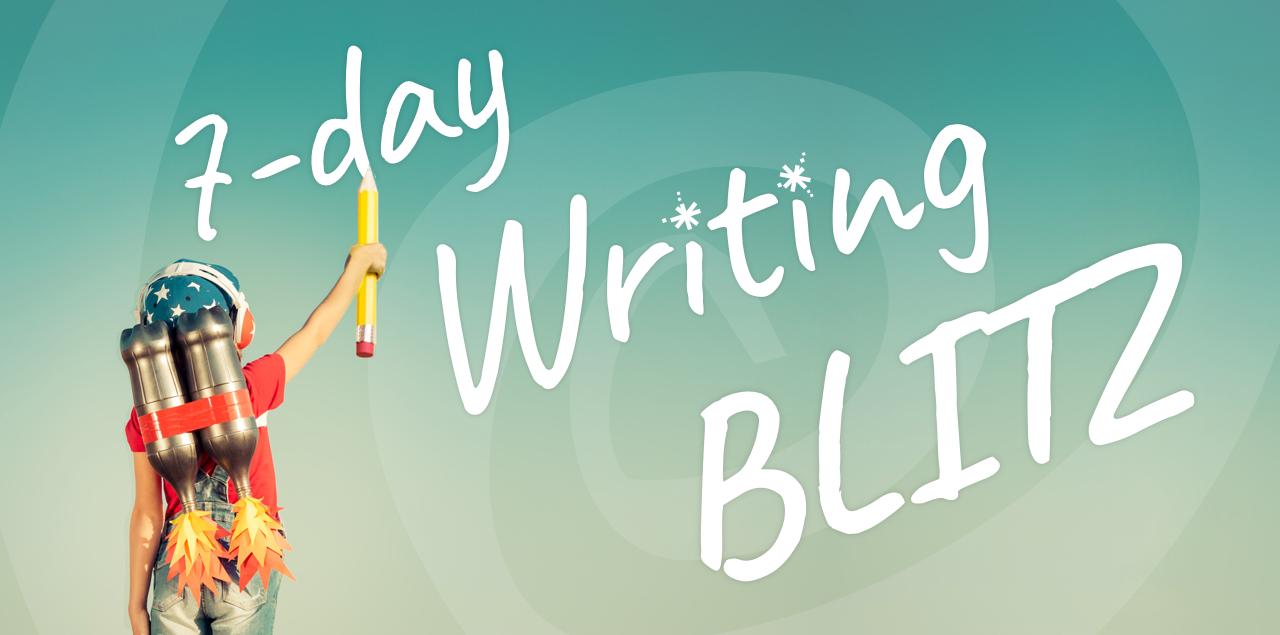 Brave Writer's 7-Day Writing Blitz
