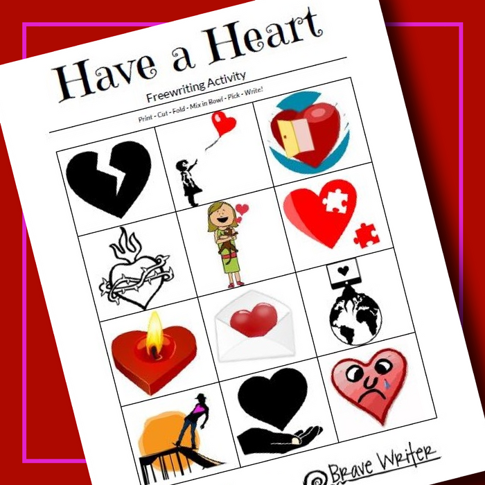 Have a Heart Freewriting Activity