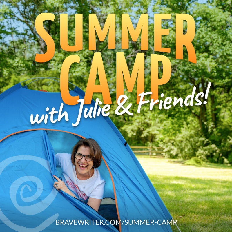 Brave Writer Summer Camp